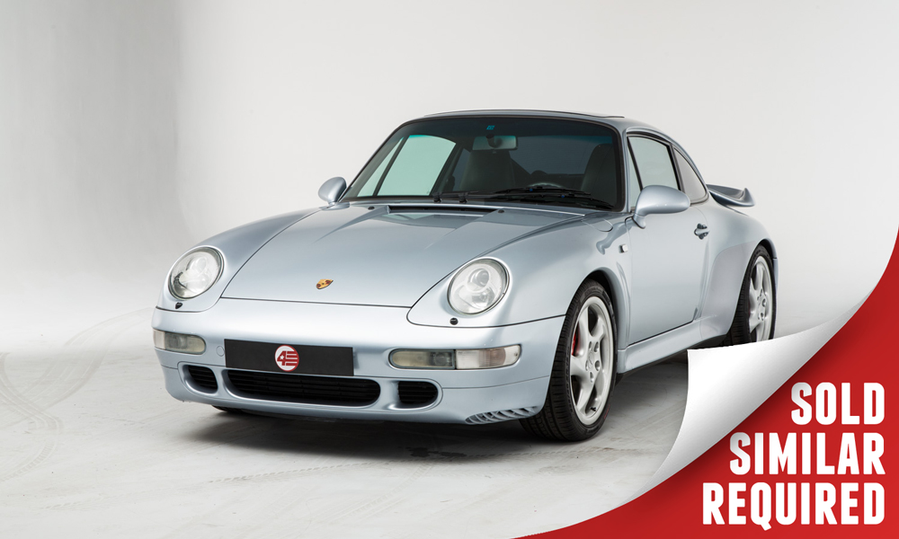 Porsche 993 Turbo silver SOLD2
