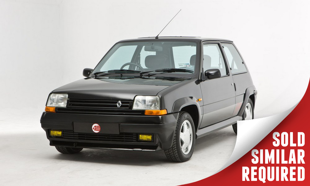 Renault 5 GT Turbo black SOLD