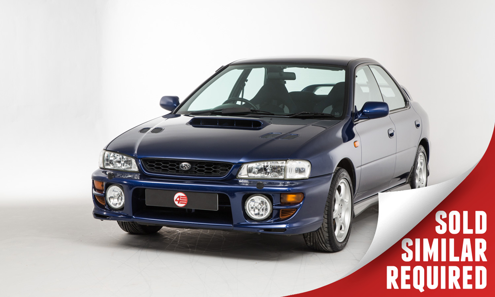Subaru Impreza Turbo blue SOLD