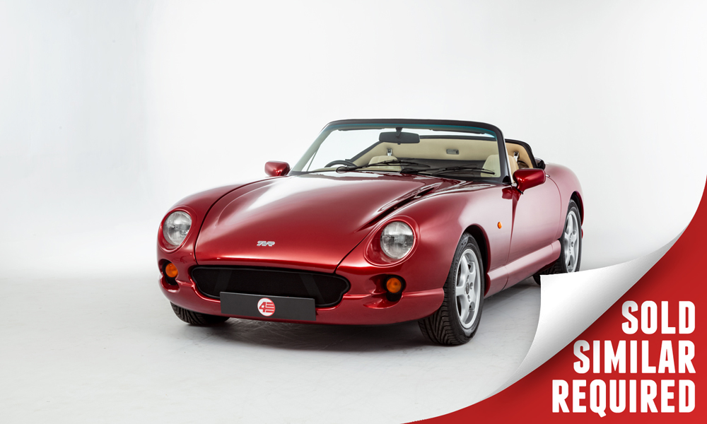 TVR Chimaera red SOLD