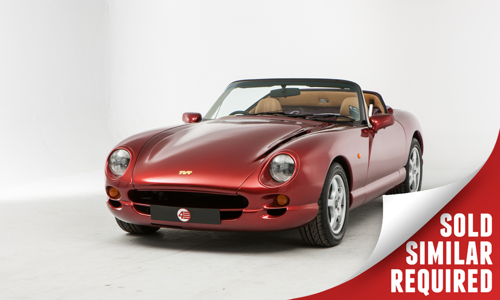 TVR Chimera 4.0 red SOLD