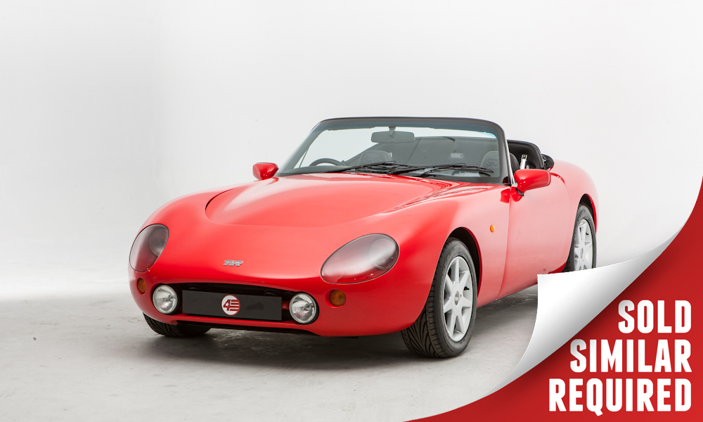 TVR Griffith 500 red SOLD