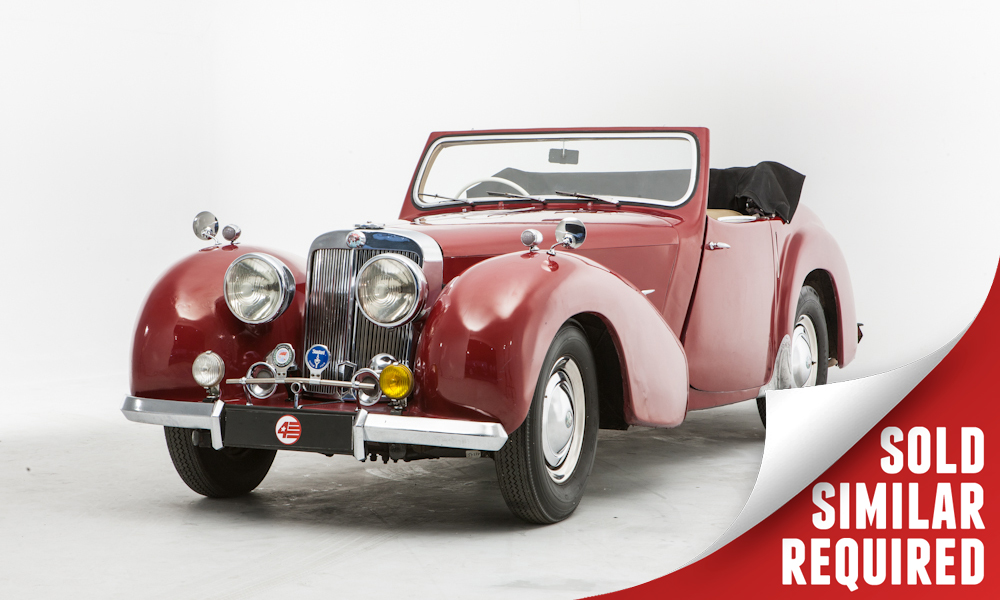 Triumph Roadster red SOLD