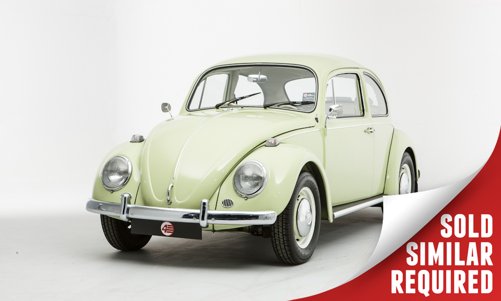 VW Beetle green SOLD