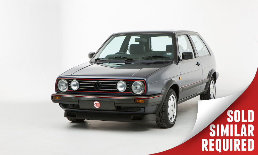 VW Golf GTI Mk2 Campaign blue SOLD