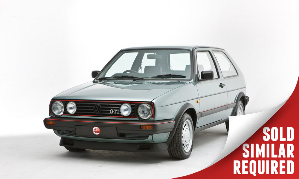 VW Golf GTI Mk2 green SOLD3