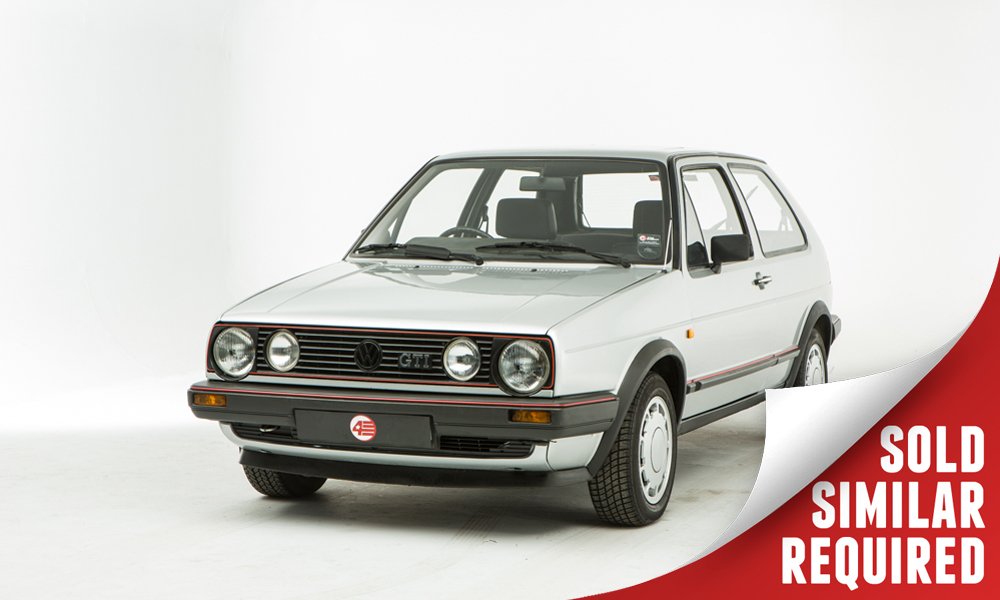 VW Golf GTI Mk2 silver SOLD2