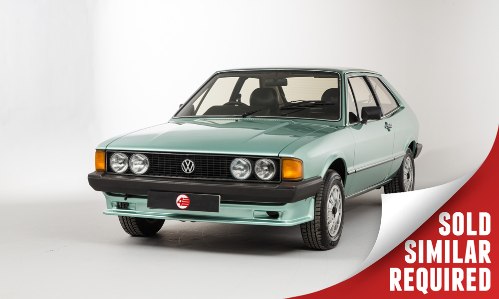 VW Scirocco Storm green SOLD