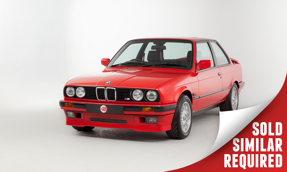 BMW E30 318is red SOLD