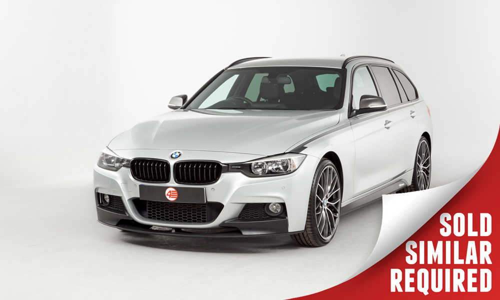 BMW F31 328i M Sport Touring silver SOLD